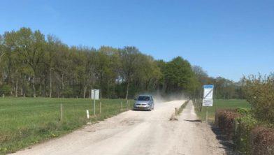 Grensweg in Langeveen