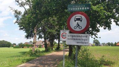 Broekweg in Harbrinkhoek