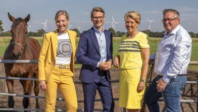 Het bestuur van Energie van Noordoost-Twente