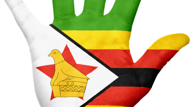 Vlag van Zimbabwe