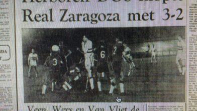 Utrecht 50 jaar terug: DOS verslaat Real Zaragoza - Utrecht