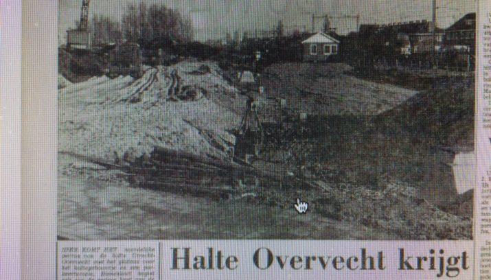 50 jaar terug Utrecht 50 jaar terug: een tweede station in Overvecht   Utrecht 50 jaar terug