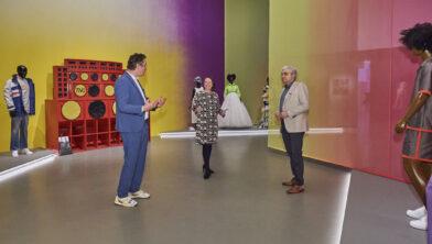 Bart Rutten, artistiek directeur Centraal Museum, Marieke van Schijndel, directeur Museum Catharijneconvent en Rob van Warmerdam, voorzitter Van Baaren Stichting