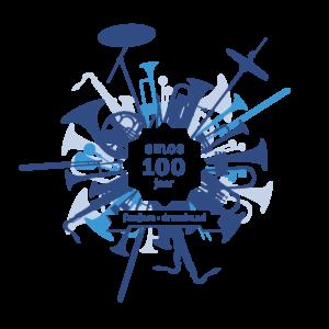 Logo Fanfare Emos Borkel en Schaft - Fanfare Emos