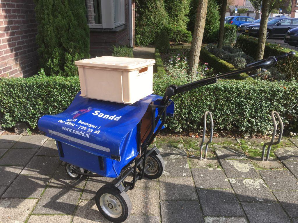 post, postbedrijf, Post NL, Sandd, einde post, Evert Meijs