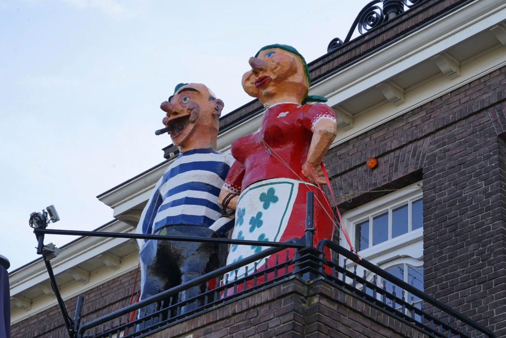 Carnaval, Strieper en Strieperin, oude gemeentehuis, Evert Meijs
