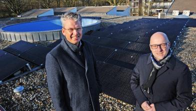 ZRG Zonnepanelen op dak Zorggroep Tollestr Blerick