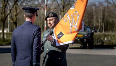 Vredepeel, 12 maart 2020 Commando overdracht DGLC