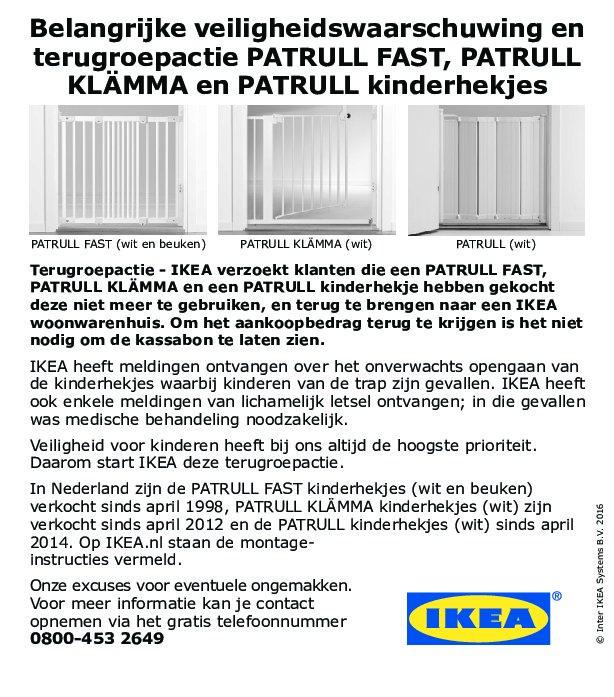 Ikea Day Bed Gumtree London ~ Belangrijke veiligheidswaarschuwing IKEA kinderhekjes  Waalwijk