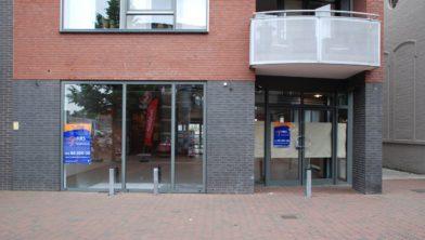 De nieuwe Etos locatie aan de Stationsstraat Waalwijk