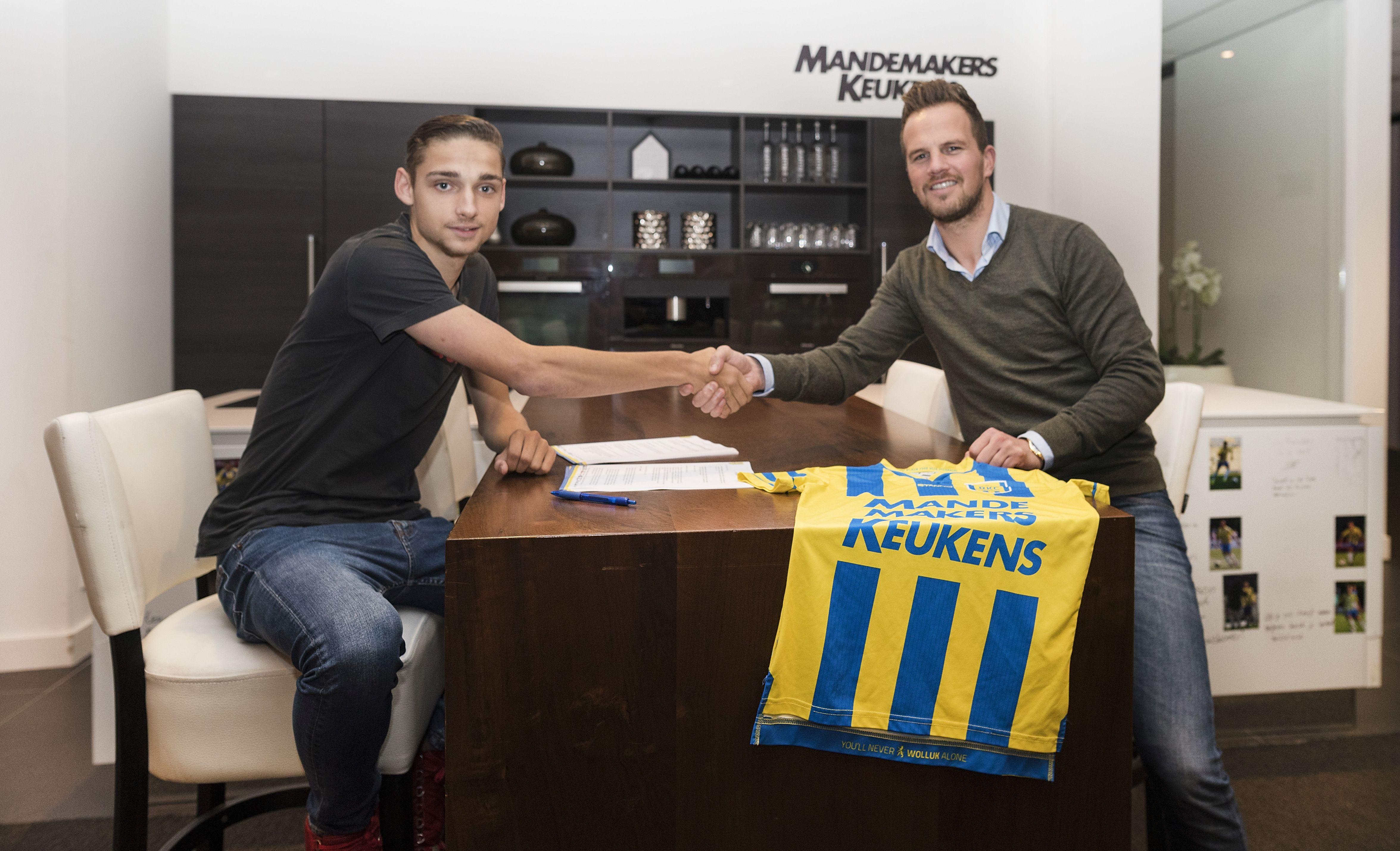 Noël de graauw tekent eerste profcontract bij rkc waalwijk waalwijk