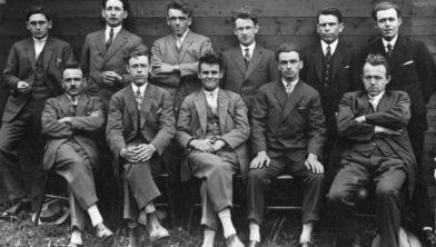 Bestuur en Jubileumcommissie bij het 10-jarig bestaan in 1929