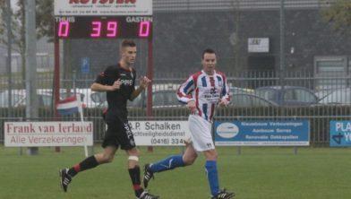 Archieffoto - Ruud van Dongen speelde een sterke partij op het middenveld.