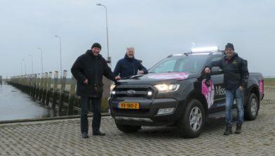 V.l.n.r.: Bert Dokter, Martin Boeije en Henk Bolhuis