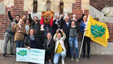 De Barry's waren de winnaars van de aller eerste Wollukse Stadskwis in 2018.