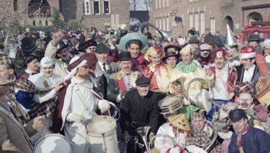 Carnaval in Schoenlapperslaand 1963
