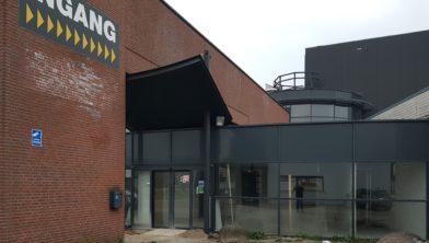 De entree van de nieuwe Subway in Waalwijk. Over zes weken is het zover!