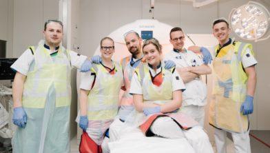 Het Spoedeisende Hulp team staat op locatie ETZ Elisabeth klaar om de acute patiënten op te vangen.