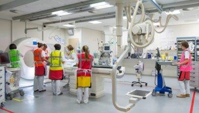 Het traumateam van het ETZ is 24 uur per dag, zeven dagen per week aanwezig om ongevalspatiënten te behandelen