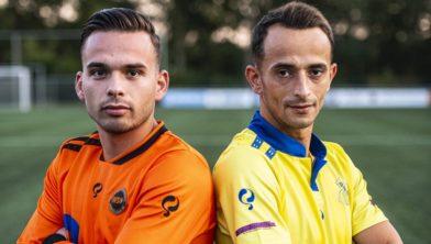Lars Kruissen (WSC) en Mounir Maamar (DESK) zijn er klaar voor!