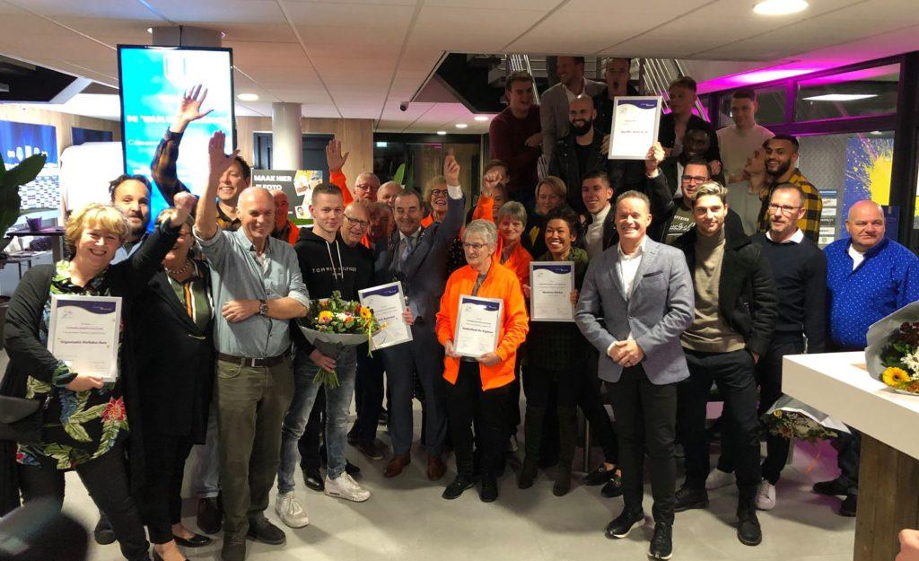 Feestelijke huldiging winnaars Waalwijk Ontmoet - Waalwijk.nieuws.nl