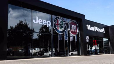 Van Mossel Fiat Jeep Alfa Romeo Tilburg (Kraaivenstraat)