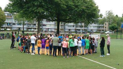 Eerder vonden op het Cruyff Court voetbaltoernooien plaats, zoals het 6vs6-toernooi