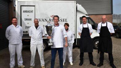 V.l.n.r. Jan Bouke Dijk, Thom Snels, Dennis van Dun, Ilonka van Wijngaarden, Tommy Michielsen en John van Delft.