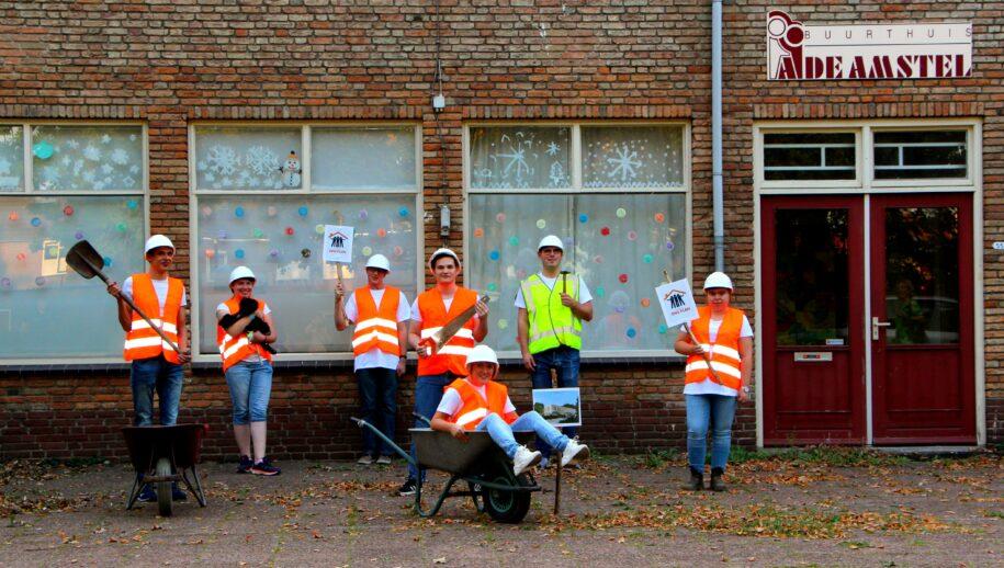 De bewoners van tHuis De Amstel