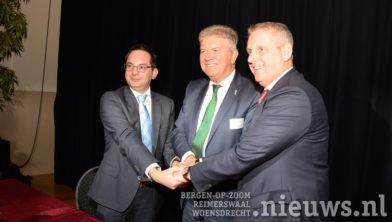 De burgemeesters Adriaansen, Petter en van den Belt
