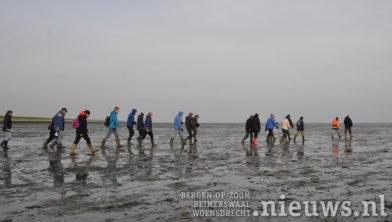 Wandeling naar het verdronken dorpje Nieuwlande