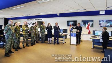 Vliegbasis Woensdrecht, 22 februari 2018 Nederland draagt meteo taak NAVO over aan Canada
