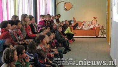 Kinderen op bezoek bij tante Sidonia