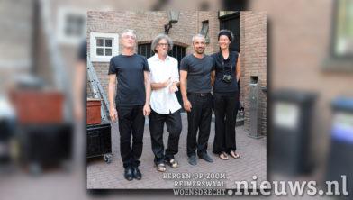 v.l.n.r. Luc, Pat, Martin en Willemien