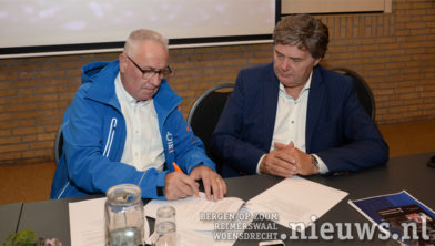 Ad van Grootel en Carel Jan Reuver