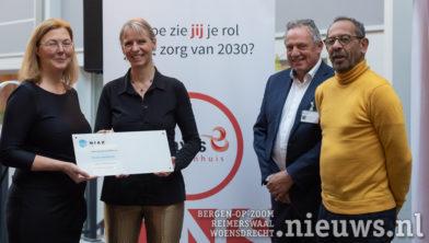 Ellen Joan van Vliet, Bianka Mennema, Richard Pal en Hans Ensing