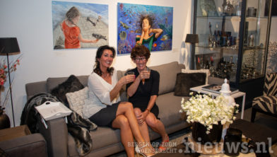 Suzana Jovanovic met Ellen van Vlaardingen