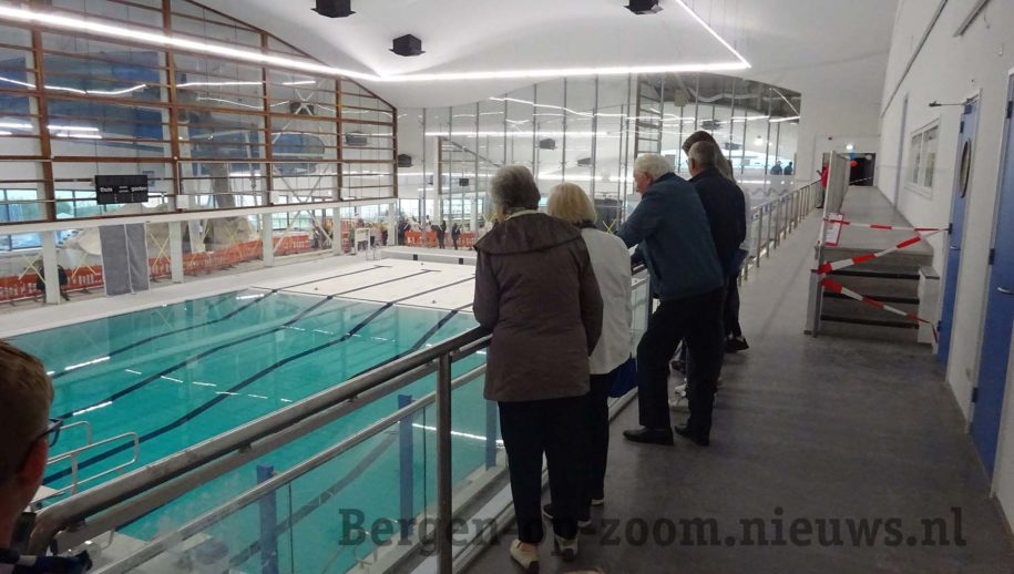 Dag van de Bouw 2019 in zwembad de Schelp in Bergen op Zoom
