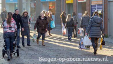 Koopzondag in Bergen op Zoom