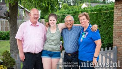 v.l.n.r.: André, Josepha, Al en Marina