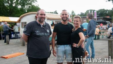 De organisatoren, Kristian de Wee en Kelvin en  Jeanette van Til