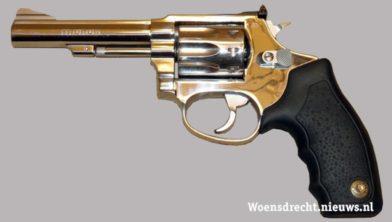 Archieffoto van een pistool ter illustratie