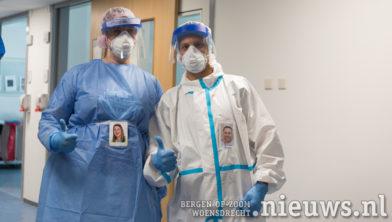 IC-medewerkers Miranda Biemans en Remy Lambregts zijn weer herkenbaar