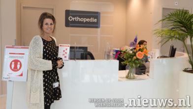Teamleider Miriam van der Jagt van Orthopedie
