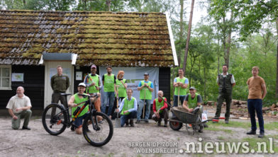 Een aantal van de vrijwilligers