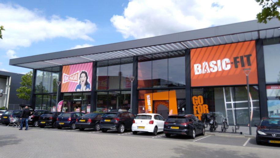 De nieuwe Basic-Fit sportschool aan de Markiezaatsweg Bergen op Zoom