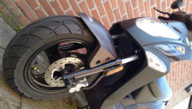 Foto van een scooter ter illustratie.