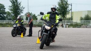 Motorrijles bij Dek in Bergen op Zoom.