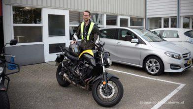 Motorrijles bij Dek Bergen op Zoom.