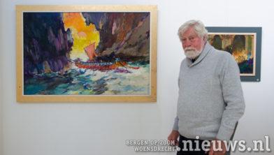 Joop Mijsbergen bij 'De Argonauten passeren de Symplegaden'